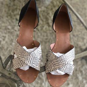 •Madewell Thea Crisscross Sandal•